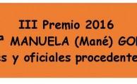 1/16. Convocatoria del III Premio 2016